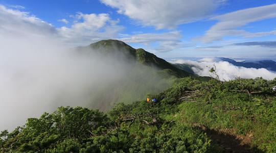上河内岳 聖沢登山口