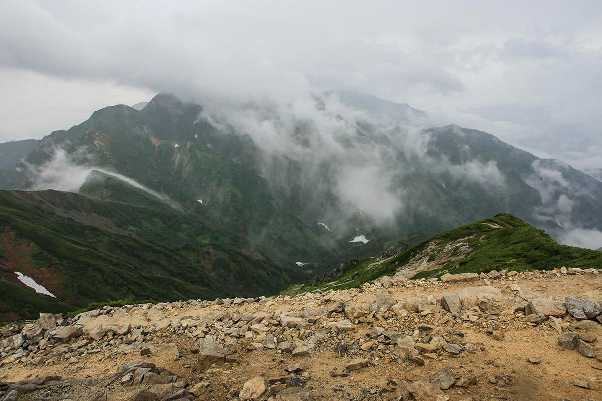 五竜岳方面