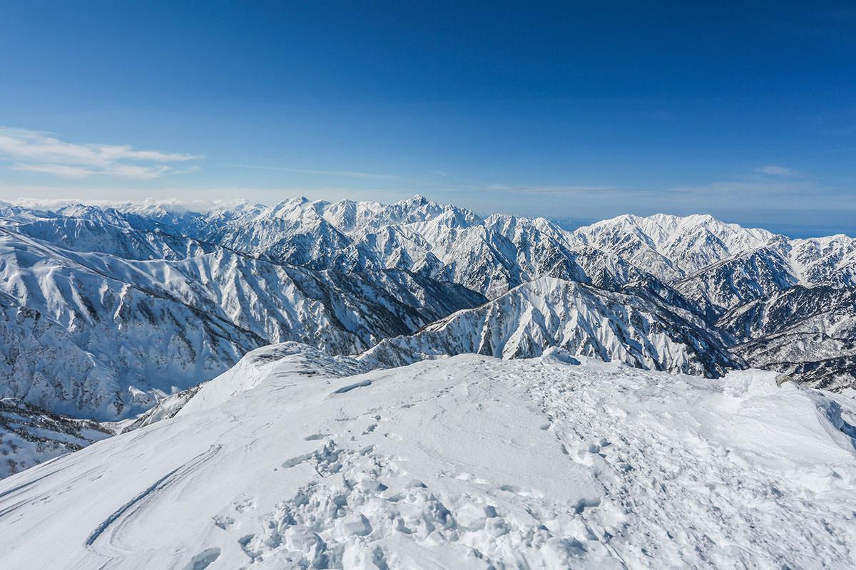 唐松岳-立山方面