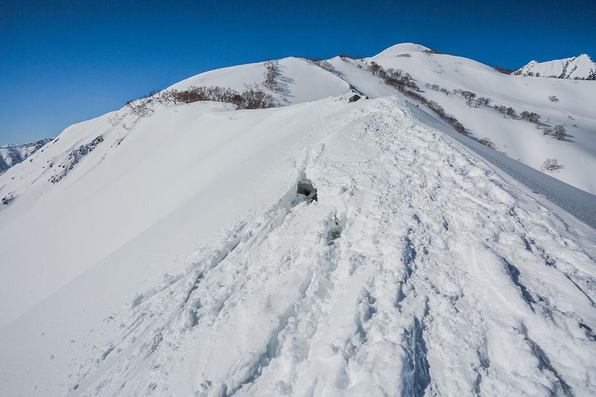 【唐松岳 八方尾根】登山百景-ときどき穴が空いている