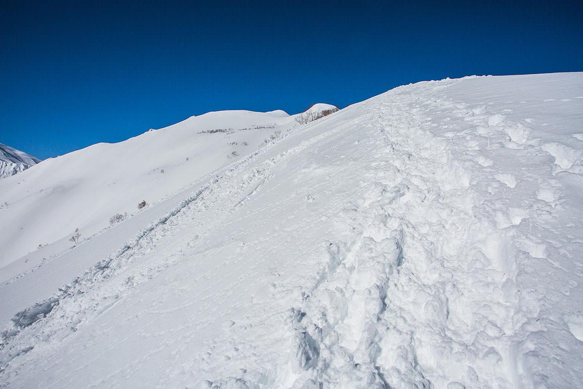 【唐松岳 八方尾根】登山百景-登り切ると次が見える
