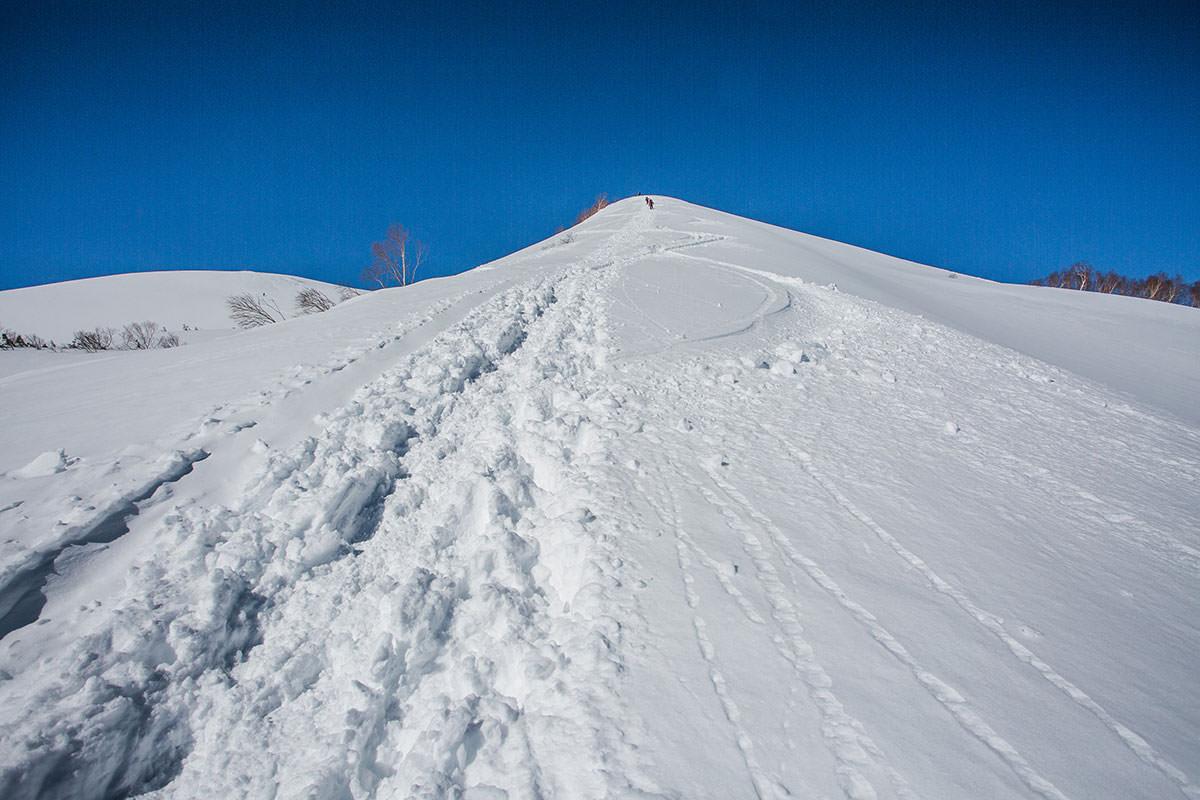 【唐松岳 八方尾根】登山百景-まっすぐ登る
