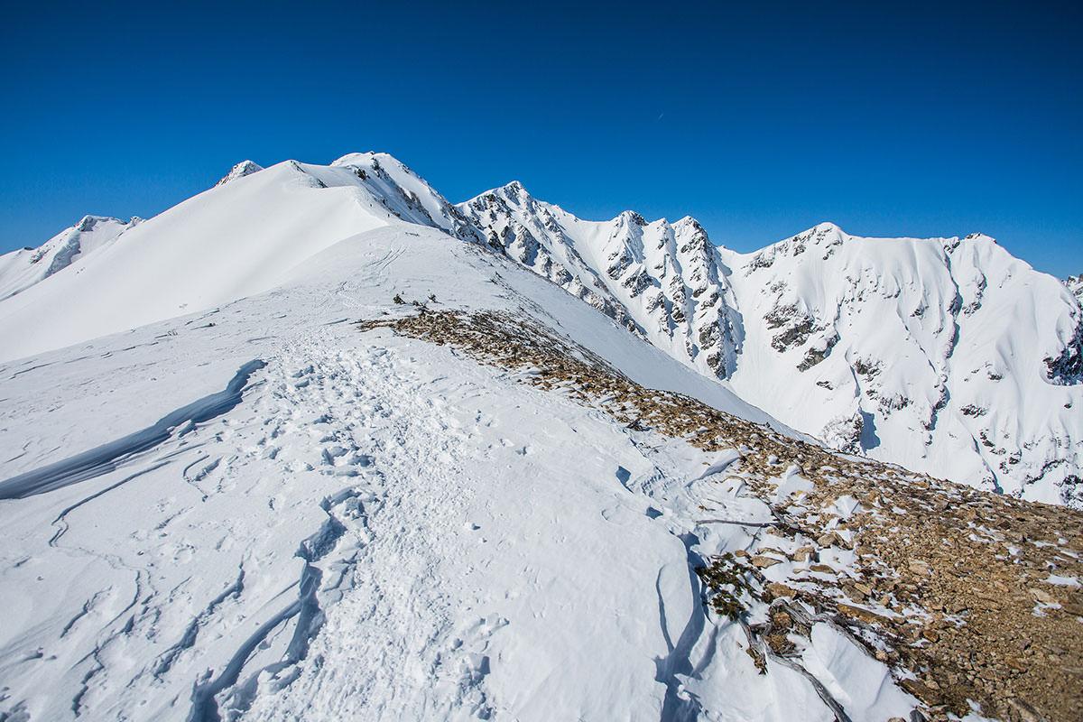 【唐松岳 八方尾根】登山百景-かなり近づいた