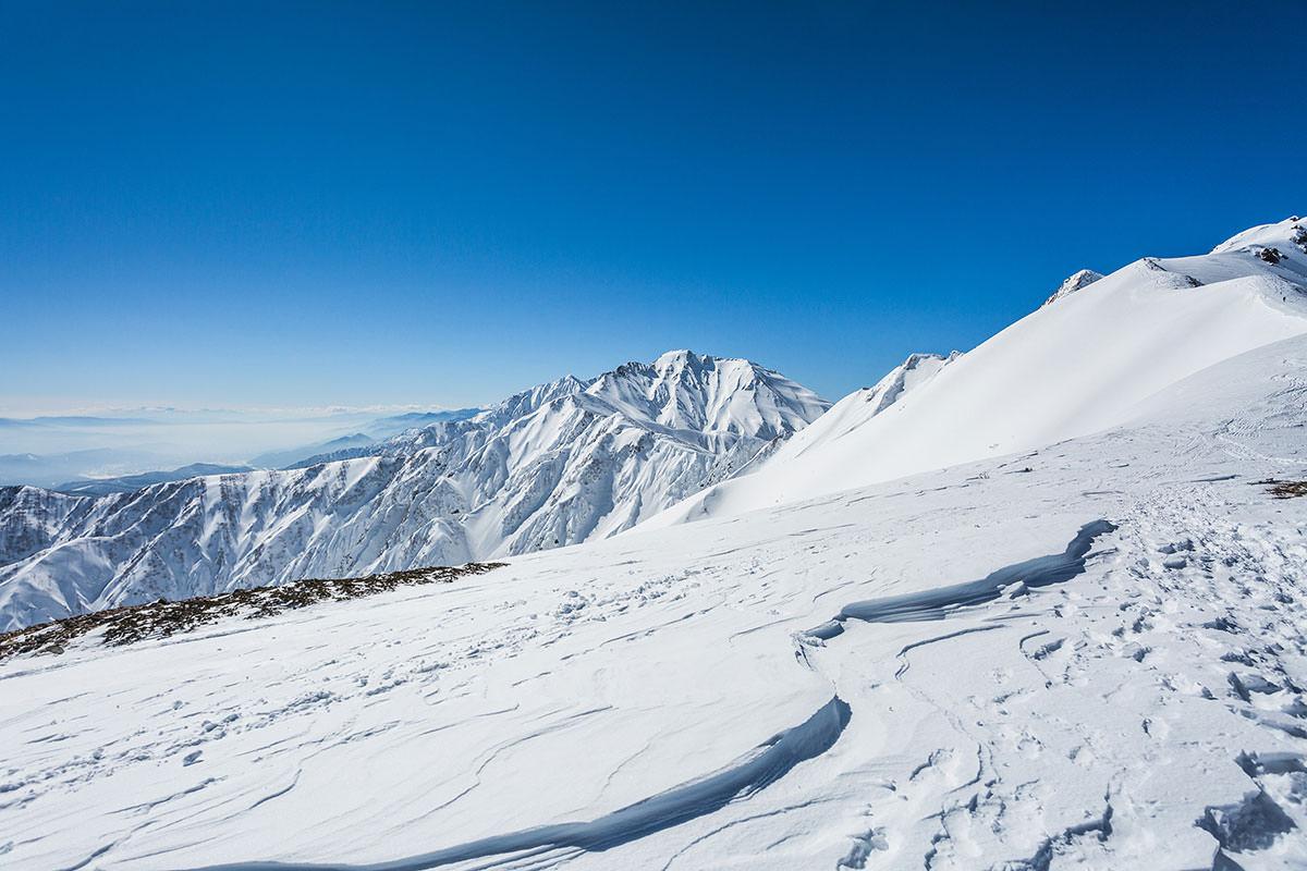 【唐松岳 八方尾根】登山百景-五竜岳が向こうに