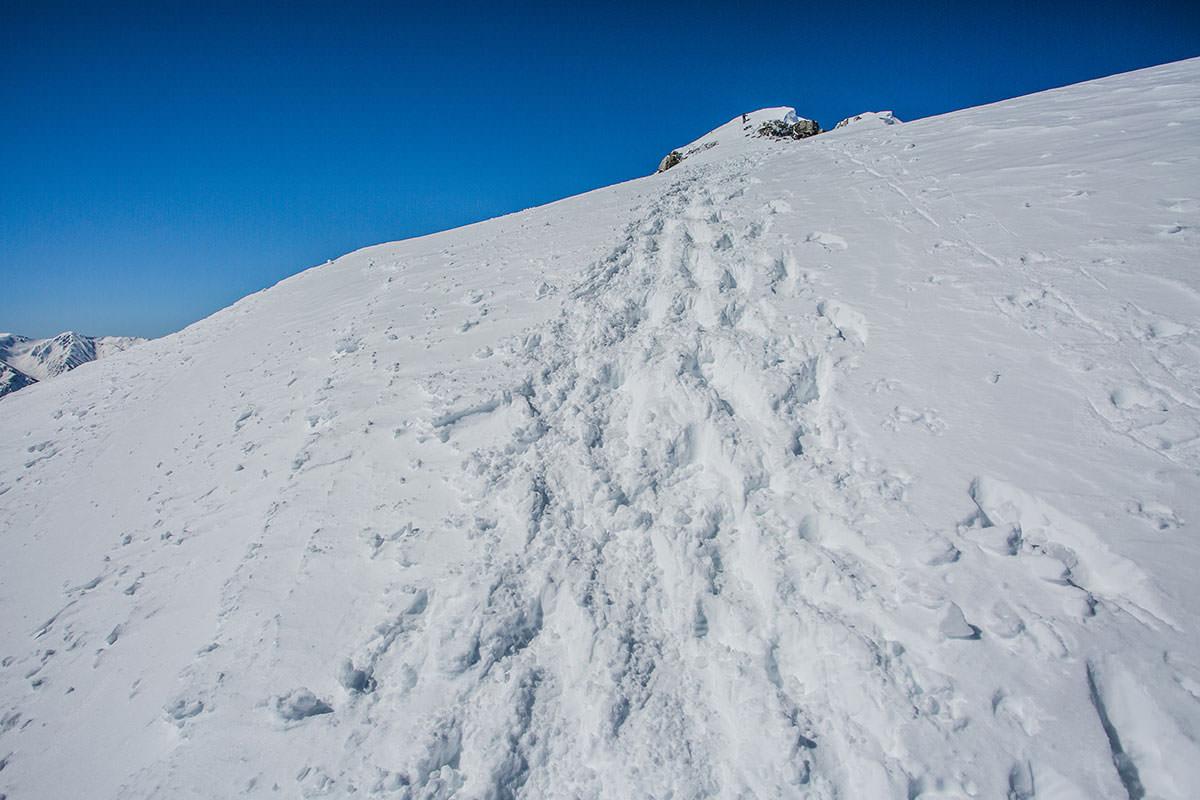 【唐松岳 八方尾根】登山百景-意外と山頂が遠い