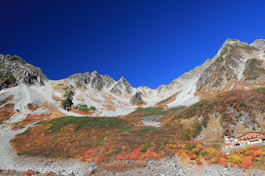 涸沢カールの紅葉を見た初めての北アルプス