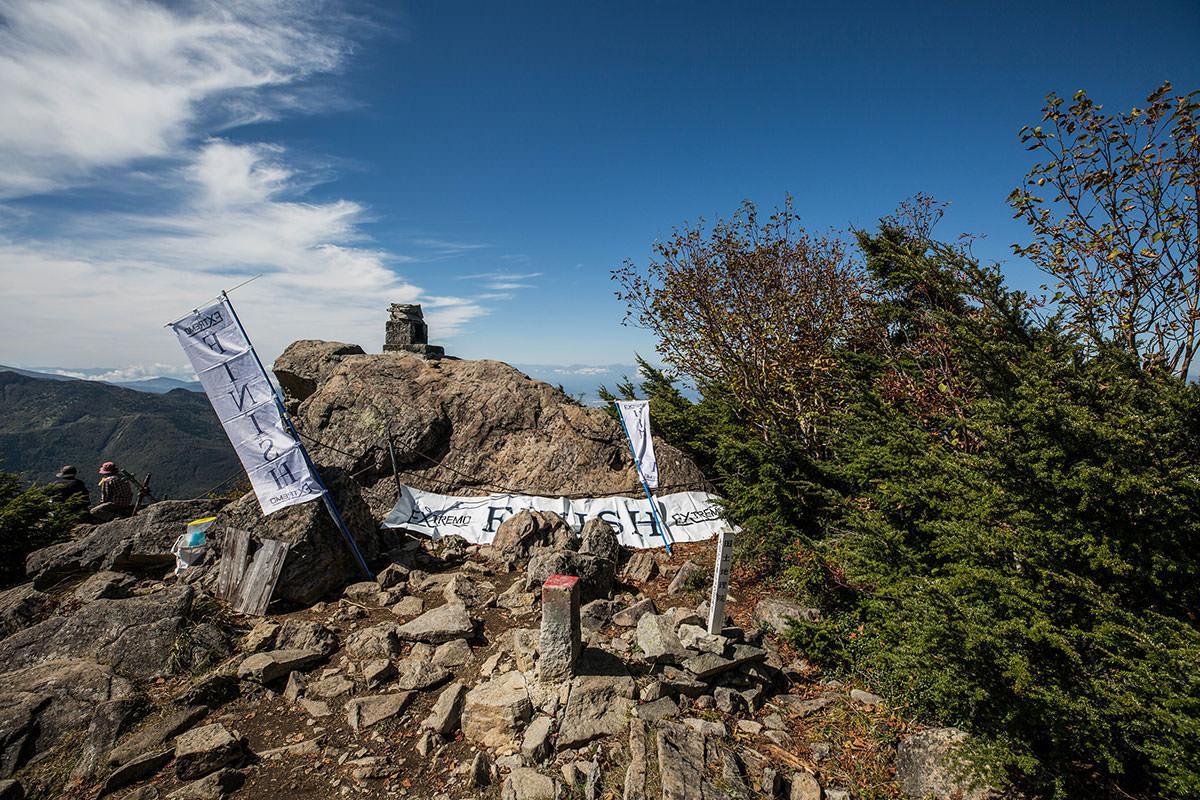 【笠岳】登山百景-山頂部