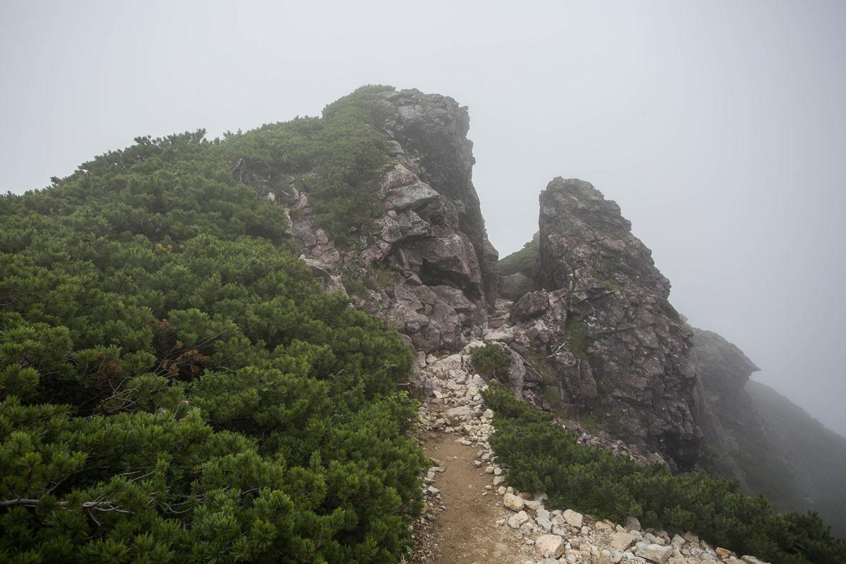 笠ヶ岳-抜戸岩