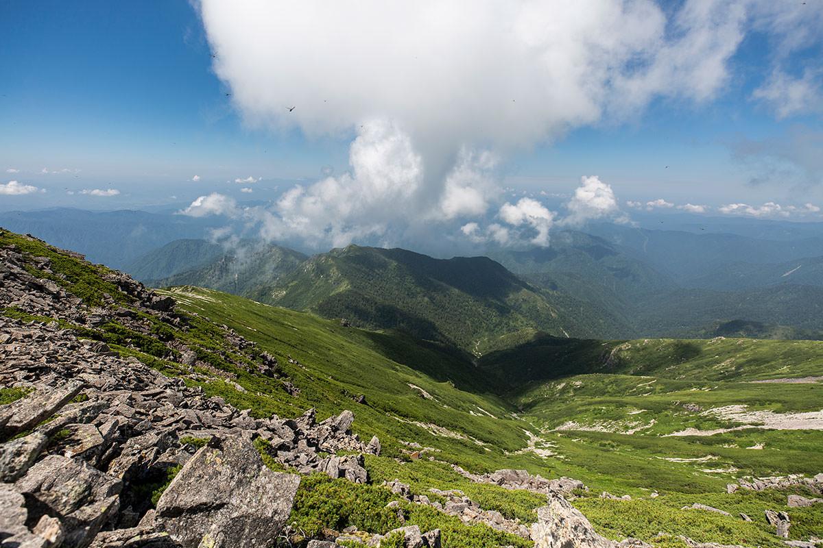 笠ヶ岳-山深い