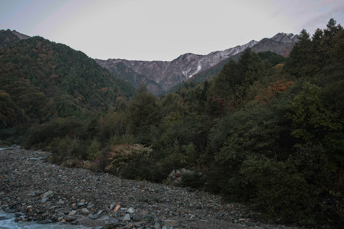 【鹿島槍ヶ岳】登山百景-目指す稜線が見える