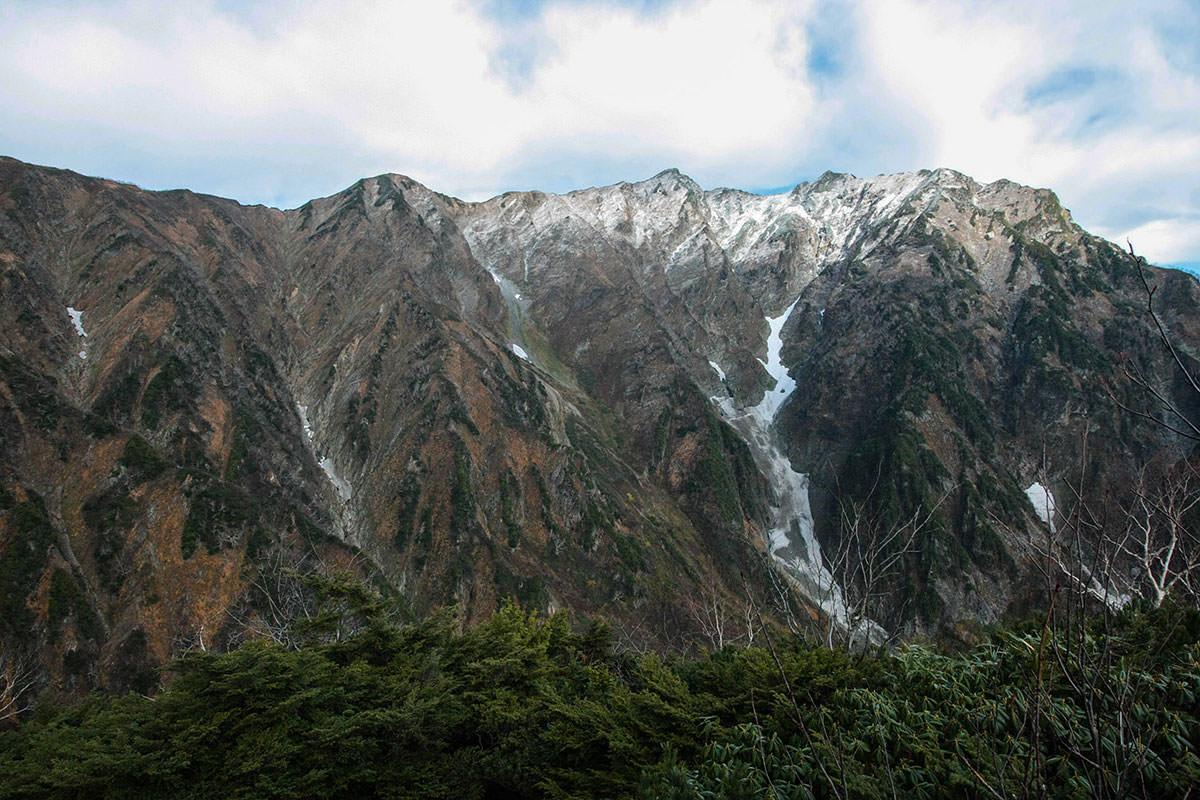 【鹿島槍ヶ岳】登山百景-高千穂平は広い