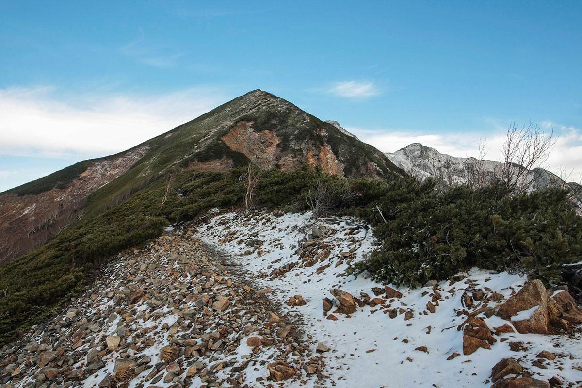 【鹿島槍ヶ岳】登山百景-まずは布引山