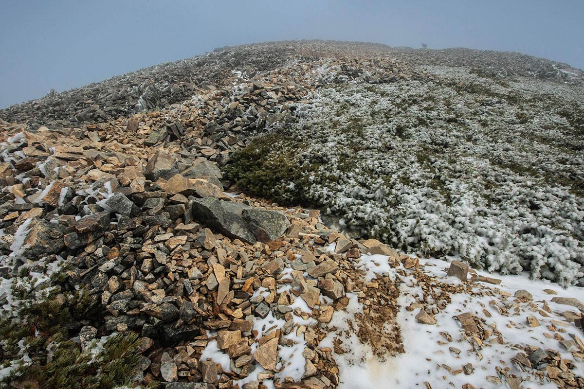 【鹿島槍ヶ岳】登山百景-最後の登り坂