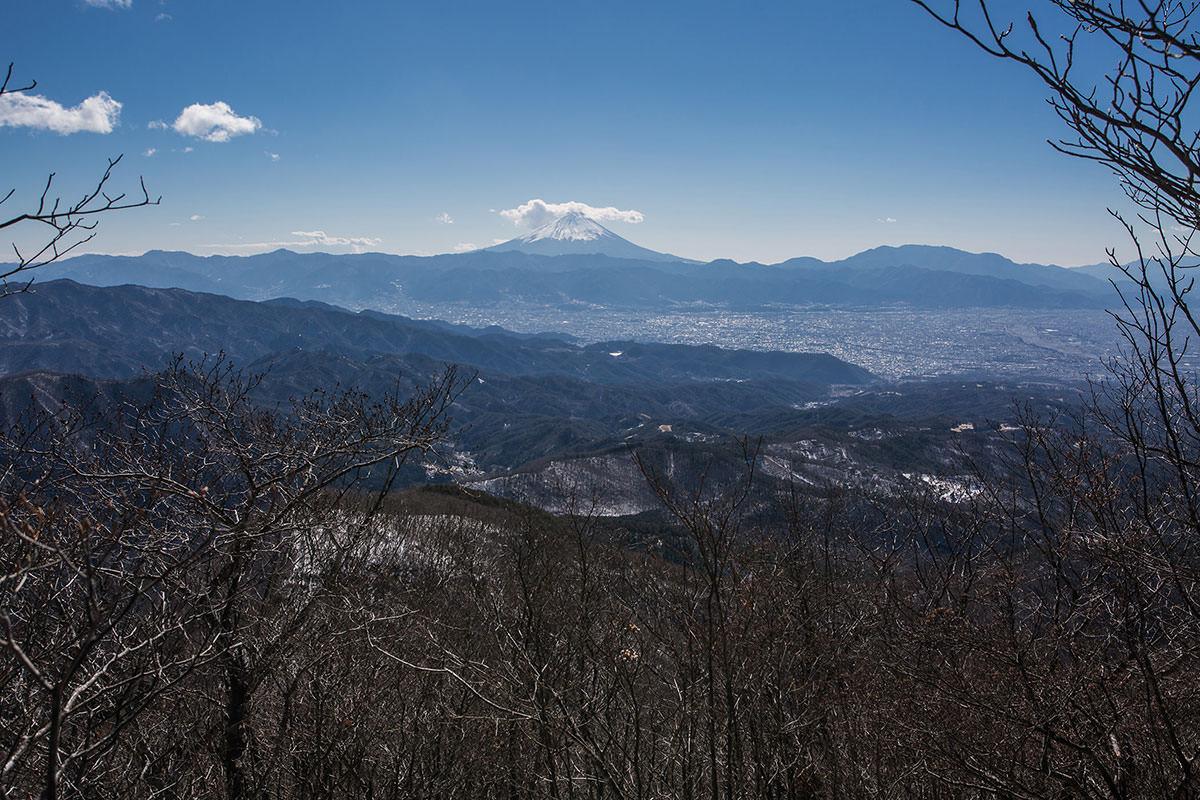【茅ヶ岳 女岩ルート】登山百景-富士山