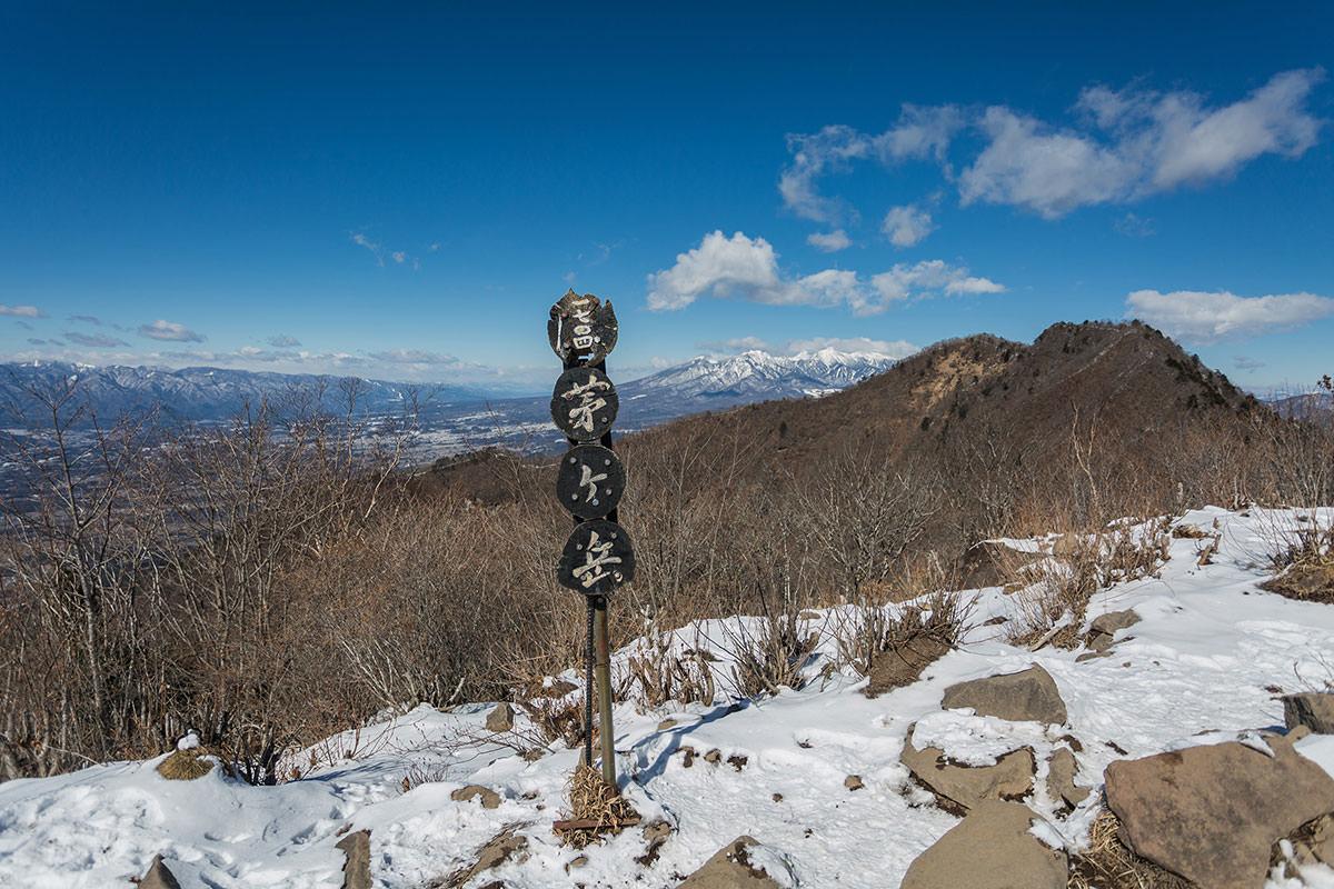 【茅ヶ岳 女岩ルート】登山百景-北側