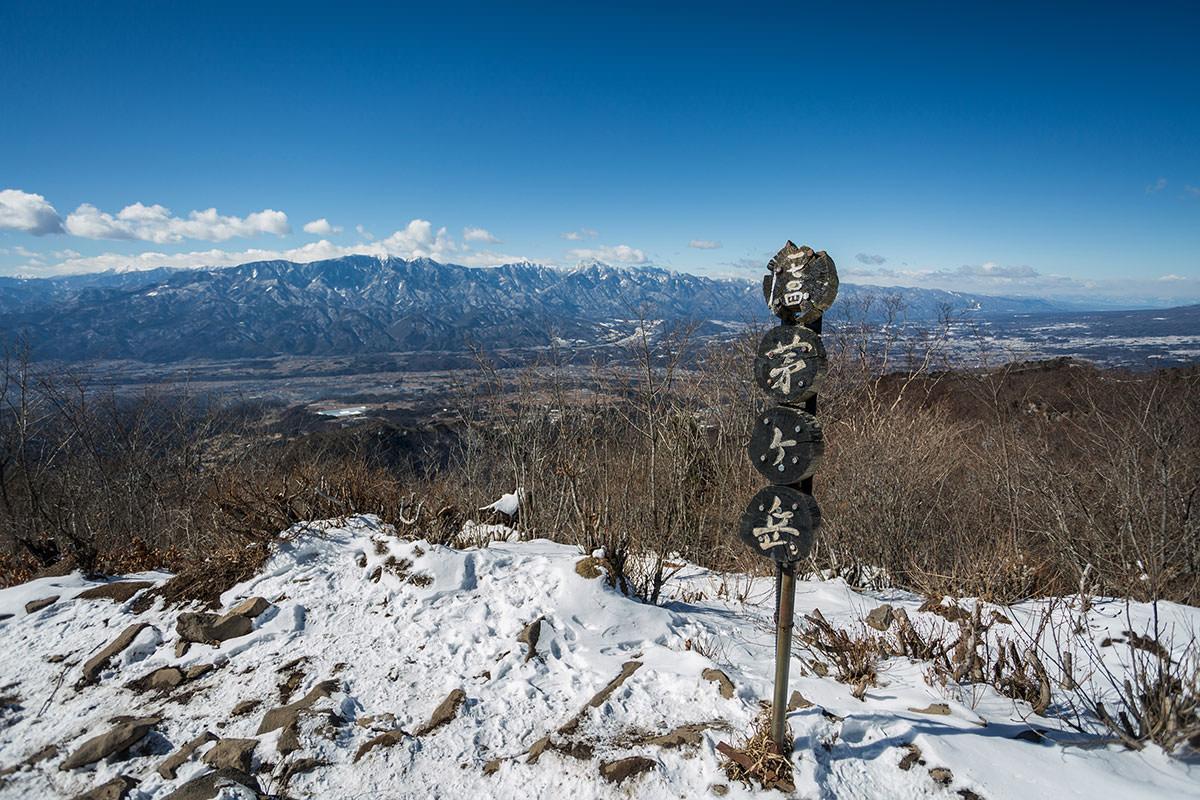 【茅ヶ岳 女岩ルート】登山百景-西側