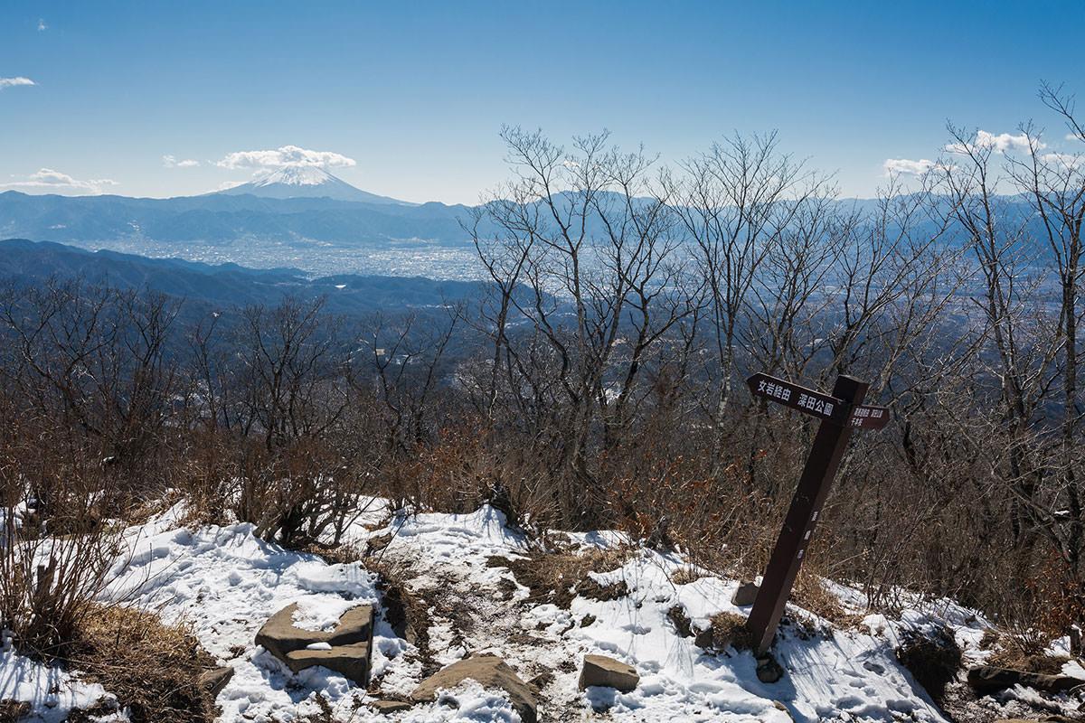 【茅ヶ岳 女岩ルート】登山百景-南側