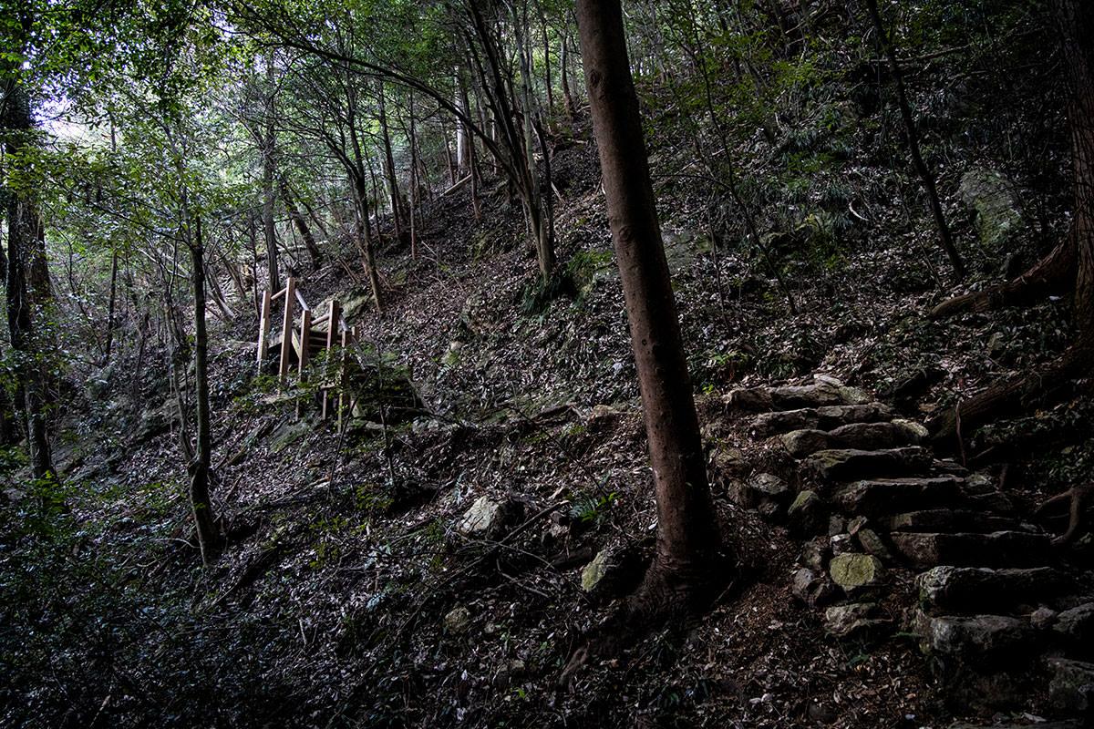 階段もある
