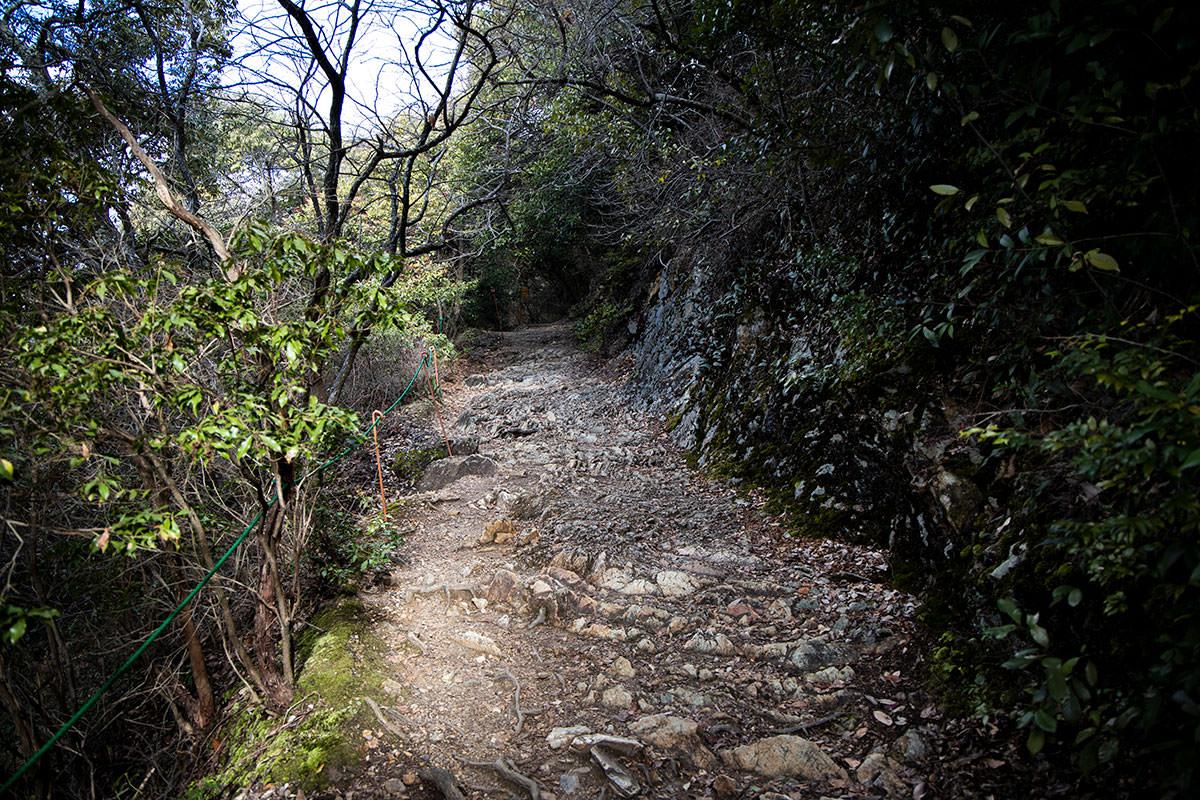 金華山-ゴツゴツだけど歩きやすい