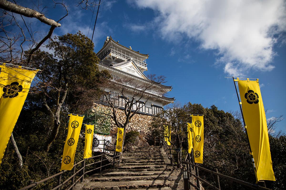 金華山-岐阜城の間近に出た