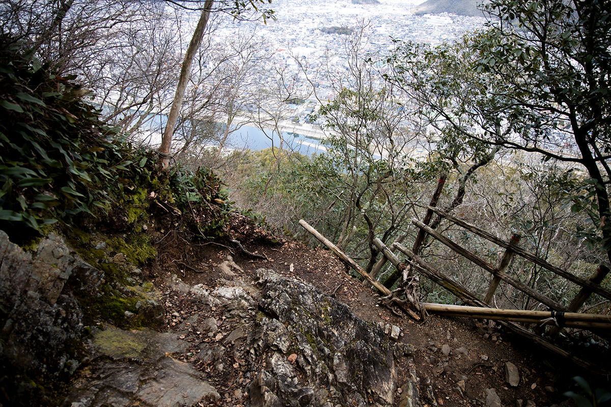 金華山-ちょっと注意したいところもある