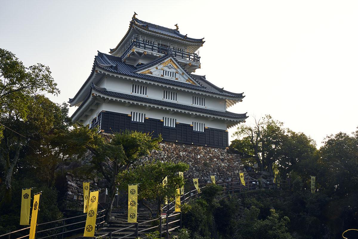 金華山-岐阜城はすぐそこ