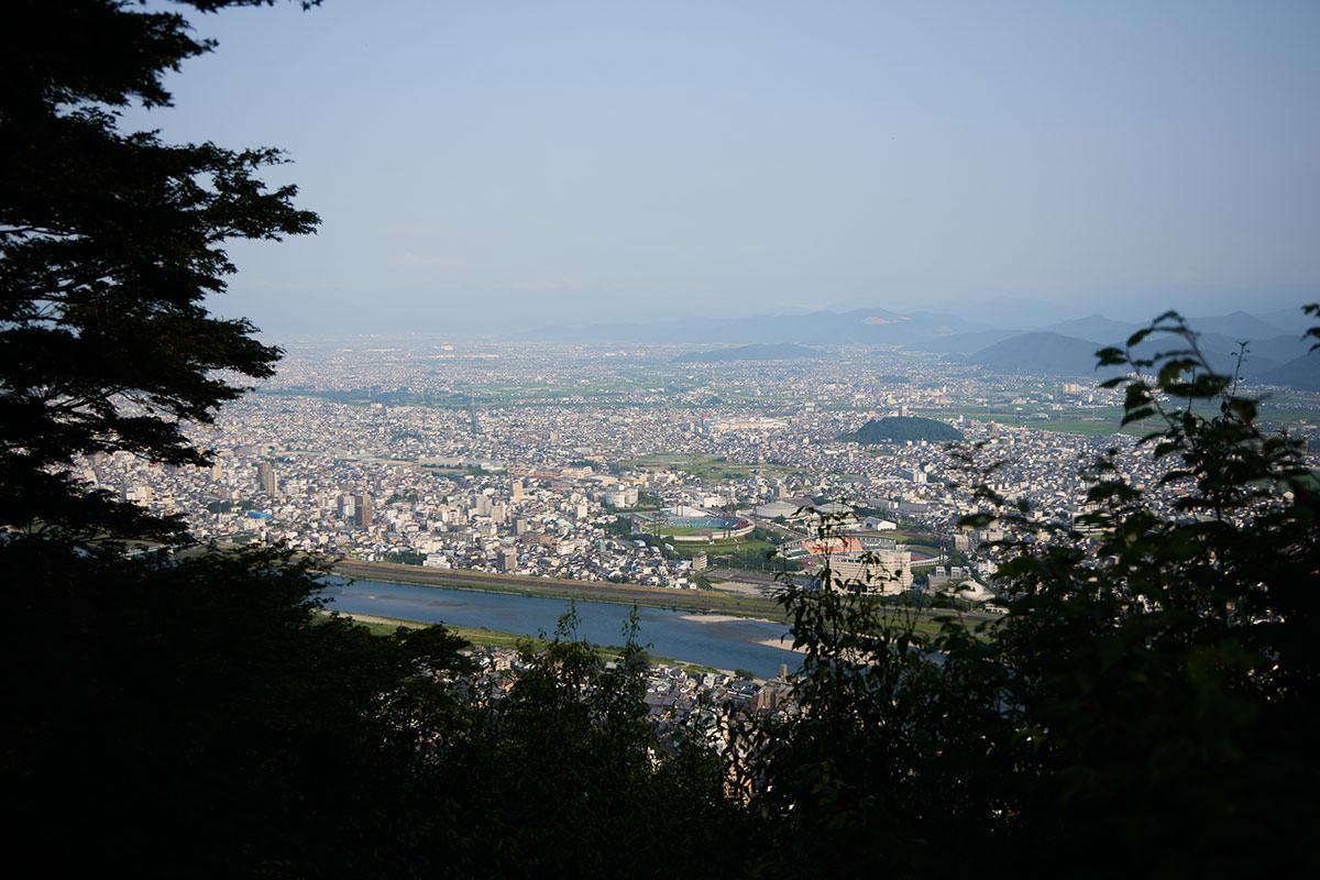 金華山-北側の眺め