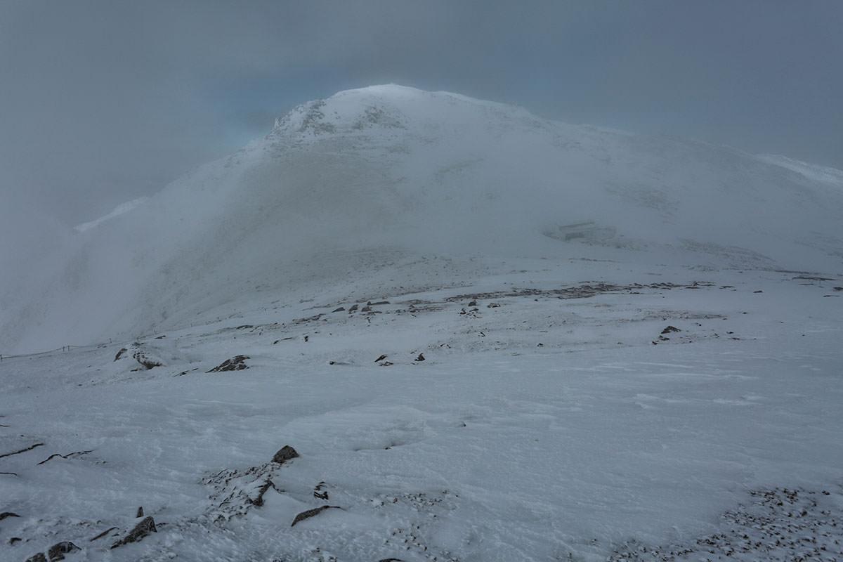 木曽駒ヶ岳が見えた