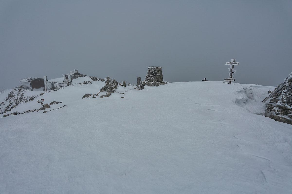 木曽駒ヶ岳山頂到着