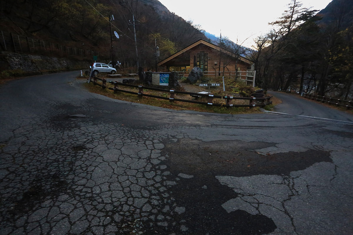 【北岳】登山百景-広河原でバスを降りる