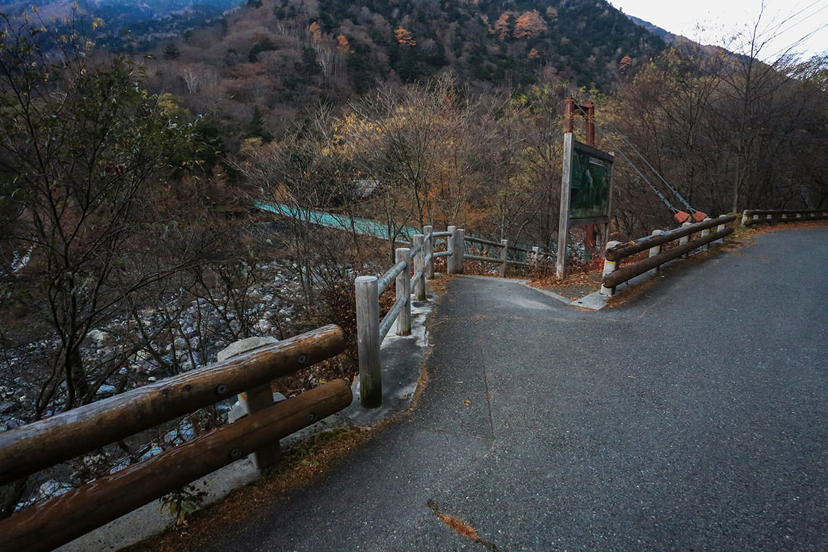 【北岳】登山百景-ここから橋へ