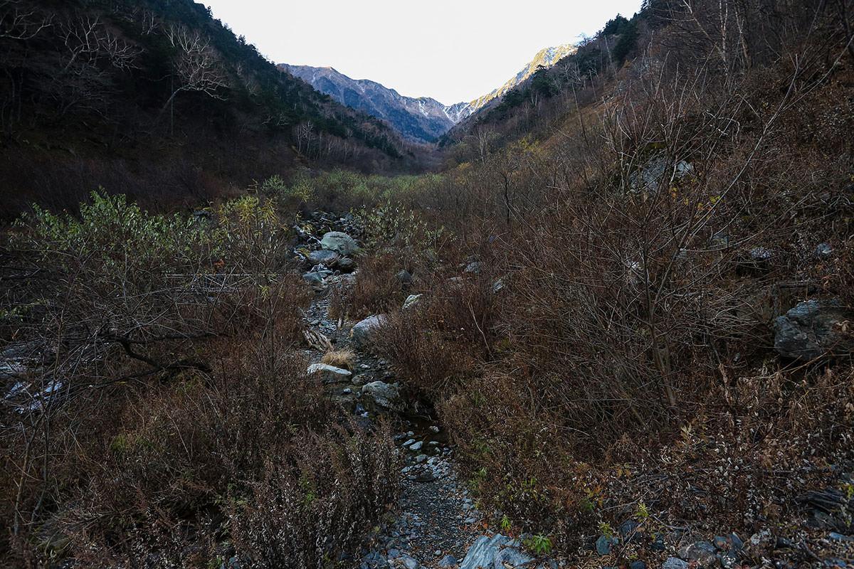 【北岳】登山百景-北岳に向かってまっすぐ