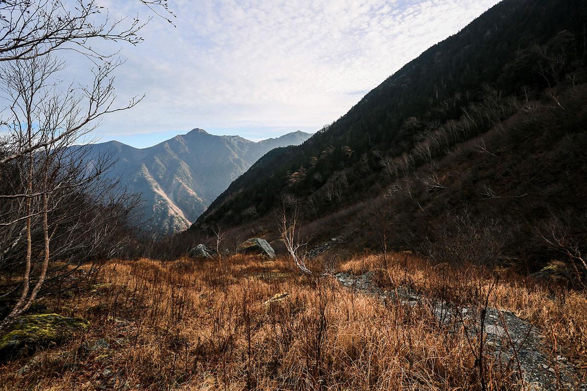 【北岳】登山百景-振り返ると鳳凰三山