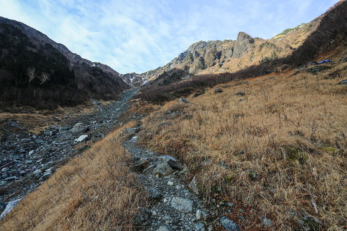 【北岳】登山百景-北岳が近い