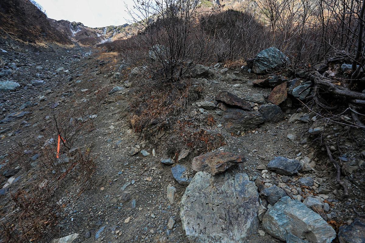 【北岳】登山百景-左右どっちも行ける