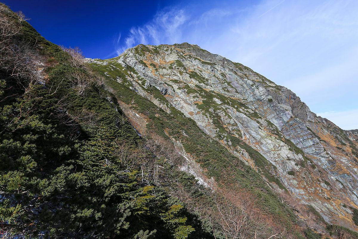 【北岳】登山百景-北岳もうじき