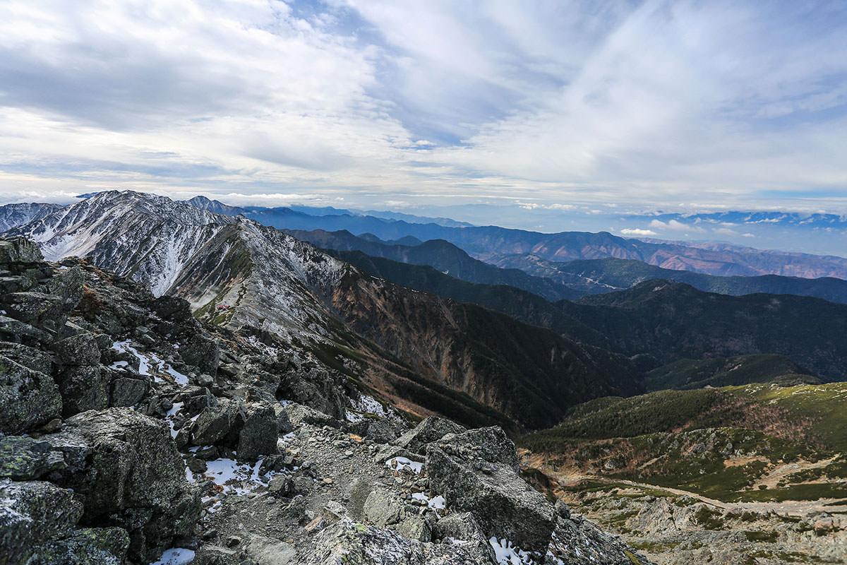 【北岳】登山百景-南アルプスの山