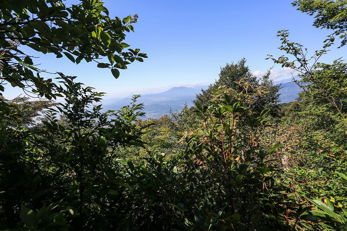 【高社山】登山百景-ときどき見える景色