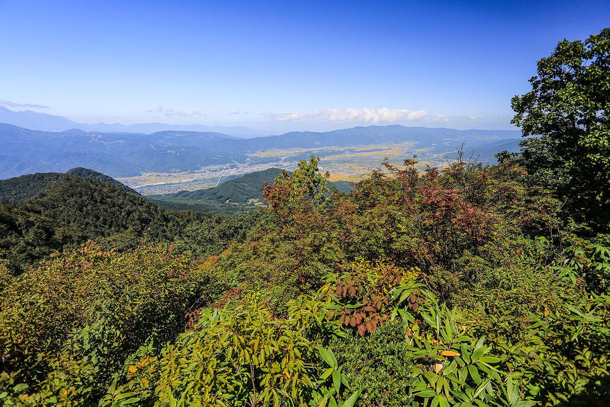 【高社山】登山百景-北側の眺め