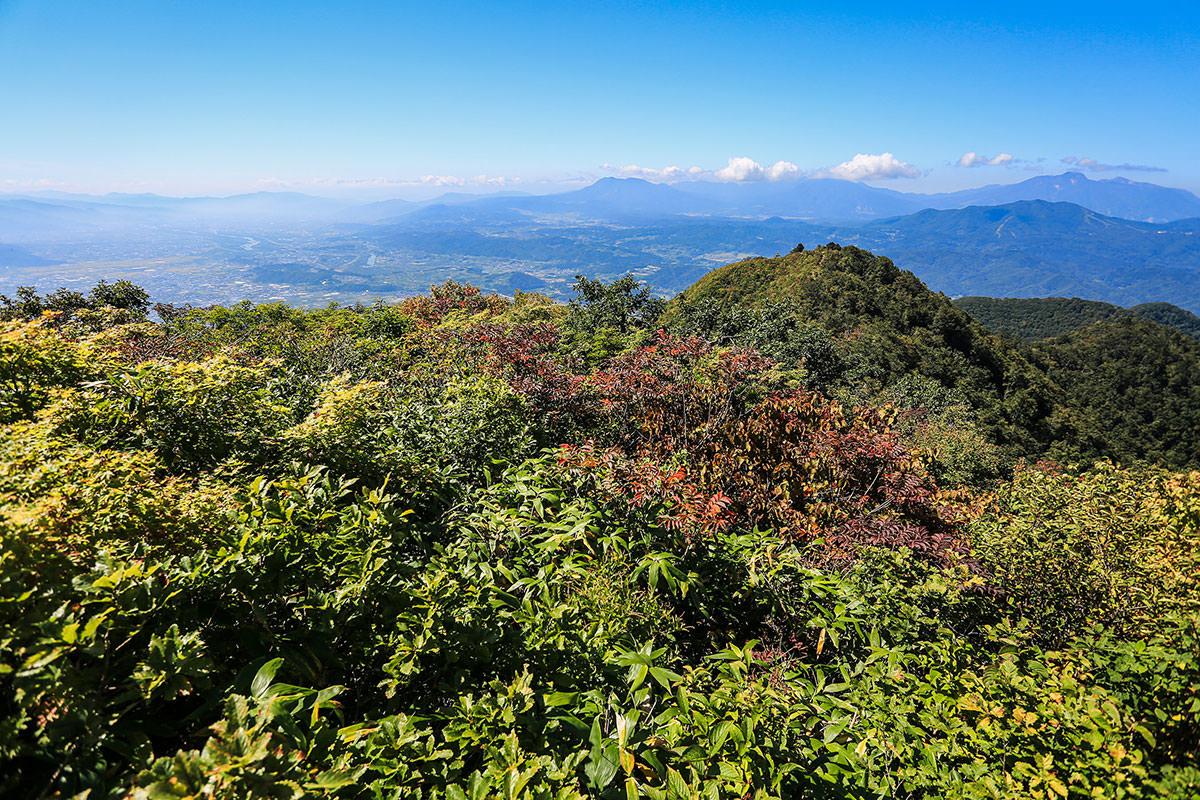 【高社山】登山百景-南側の景色