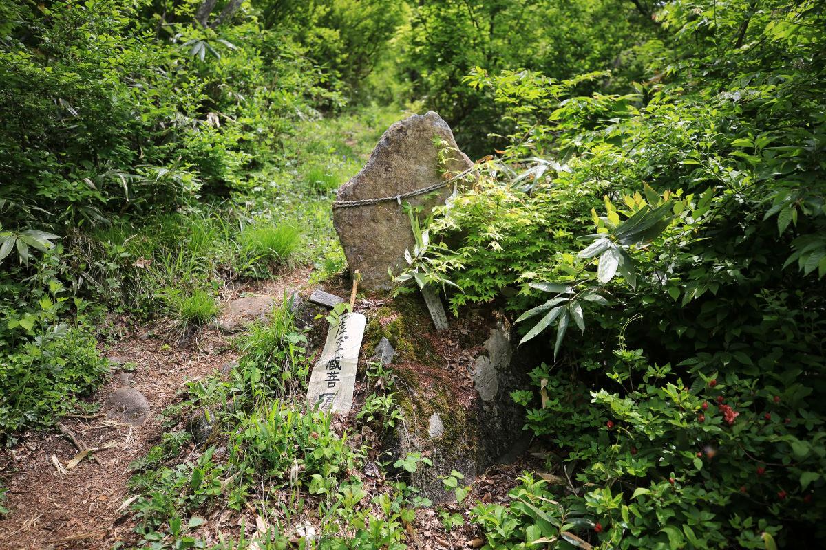 登山道の十三仏