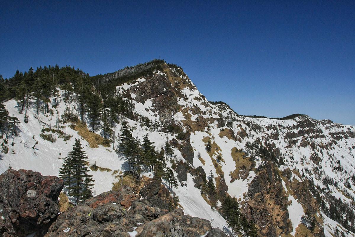 【黒斑山】登山百景-すぐそこ黒斑山