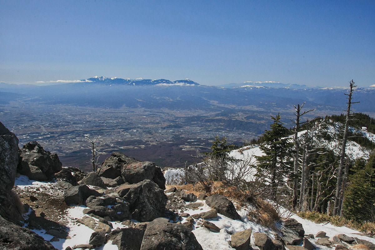 【黒斑山】登山百景-浅間山が大きい