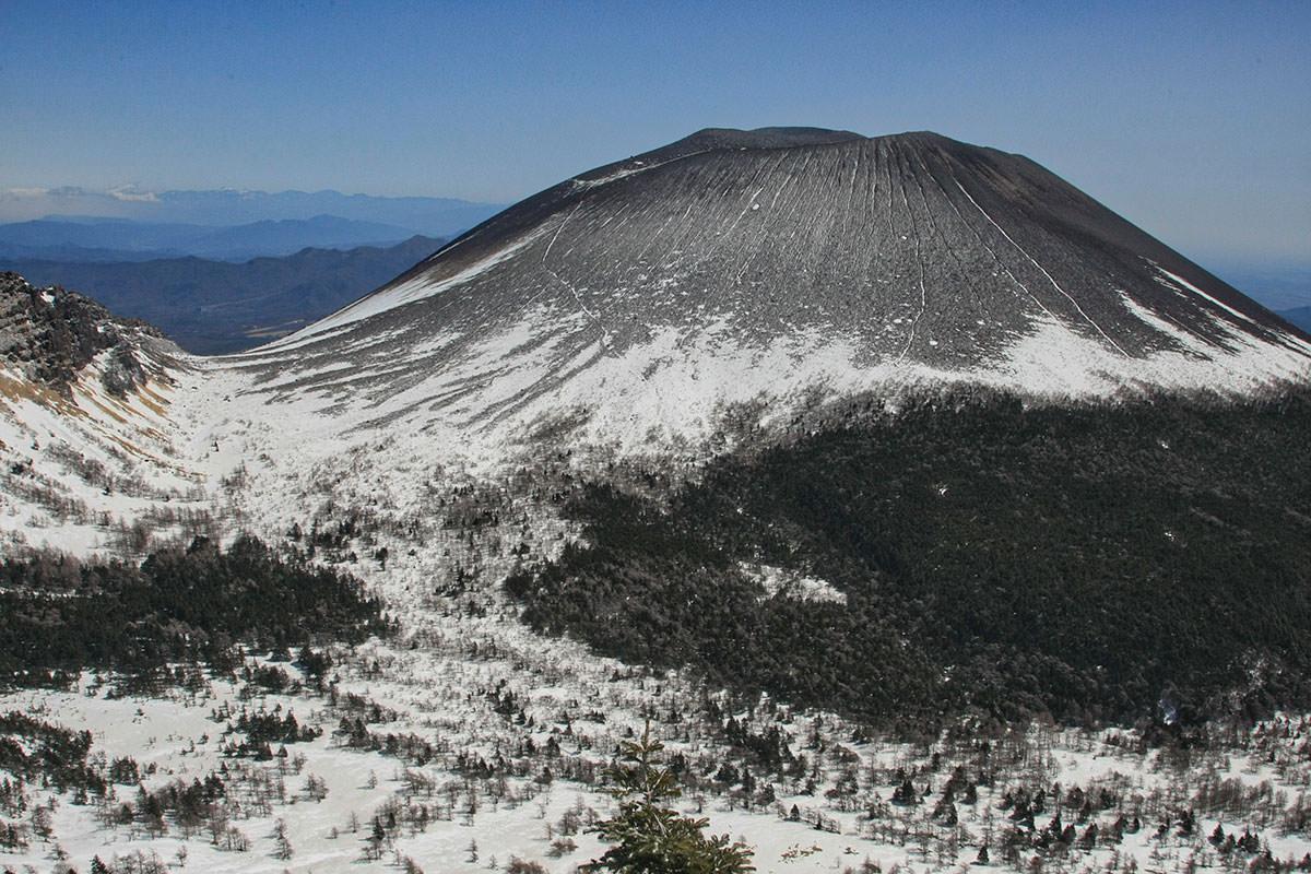 【黒斑山】登山百景-振り向けば八ヶ岳