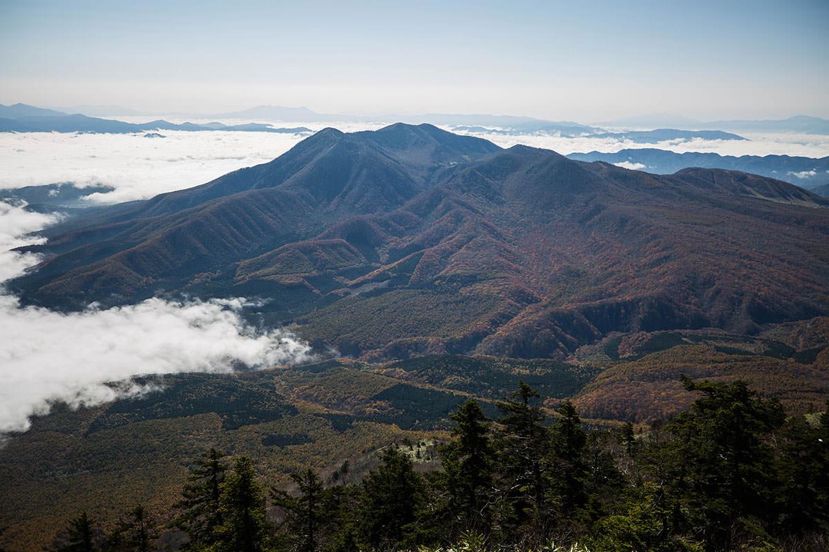 【黒姫山】登山百景-飯縄山