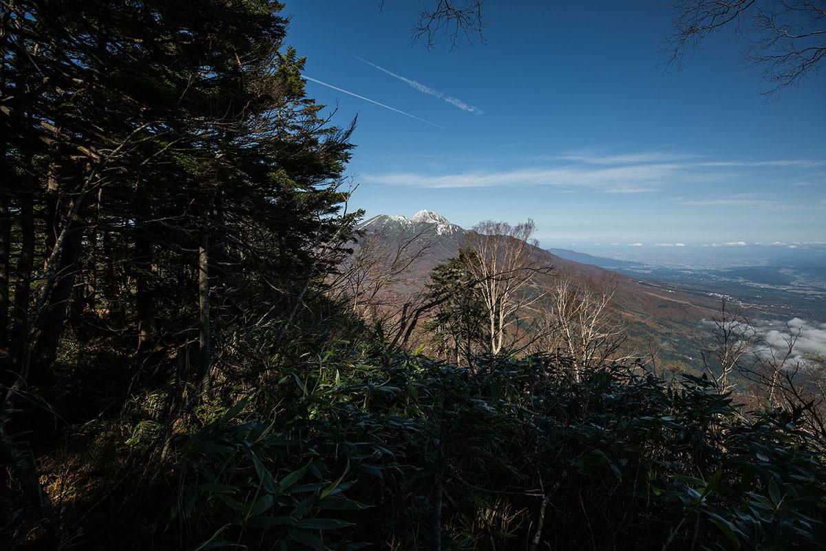 【黒姫山】登山百景-妙高山が見えた