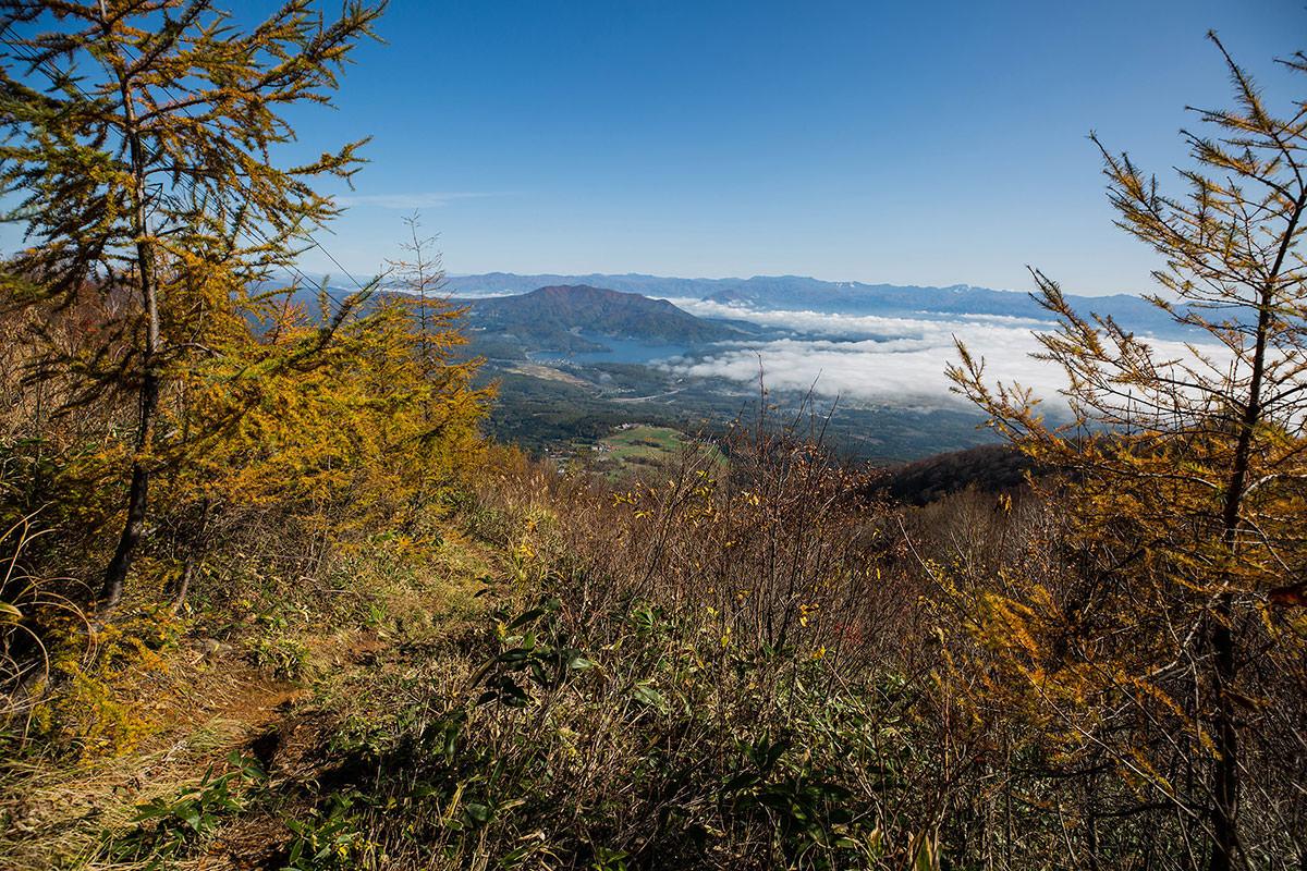 【黒姫山】登山百景-スキー場に近づいて見晴しが良い