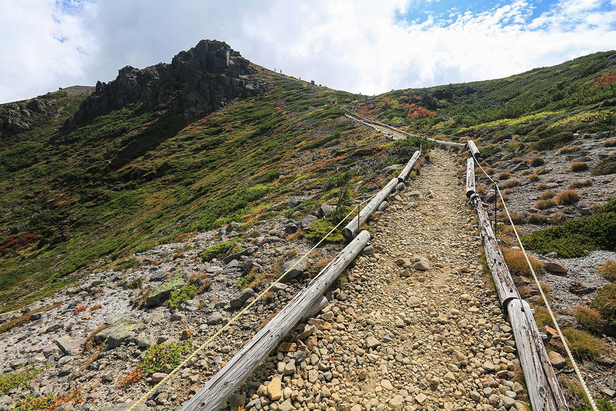 【草津白根山】登山百景-けっこう平らなルート