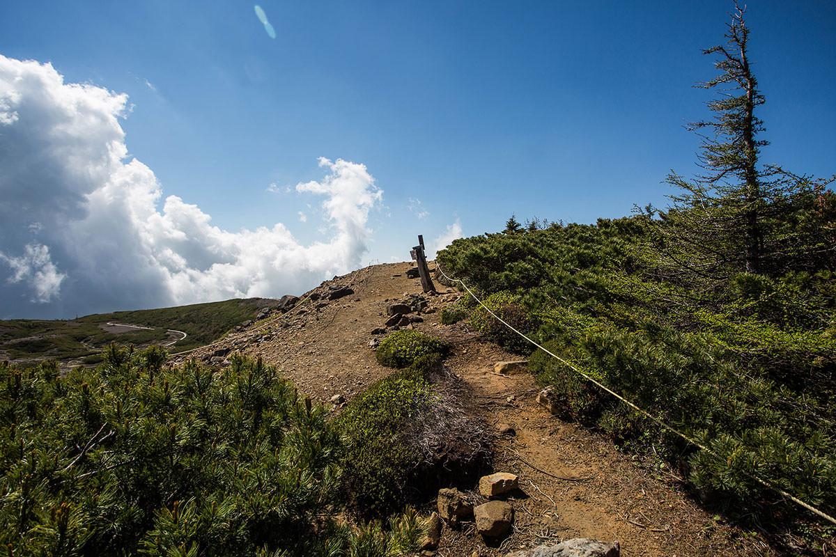 【本白根山 万座温泉】登山百景-最高地点に到着