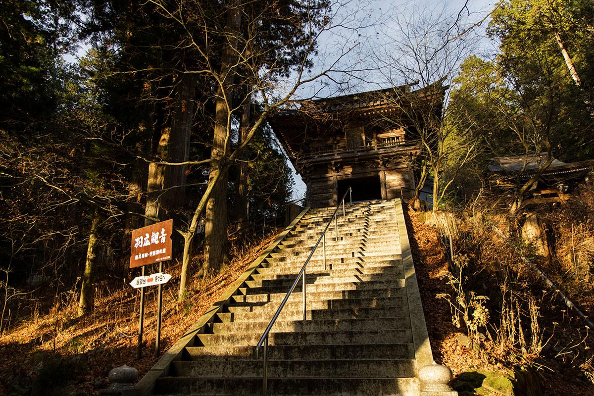 仲仙寺から登山開始